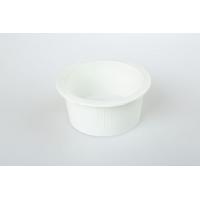Small round dish white